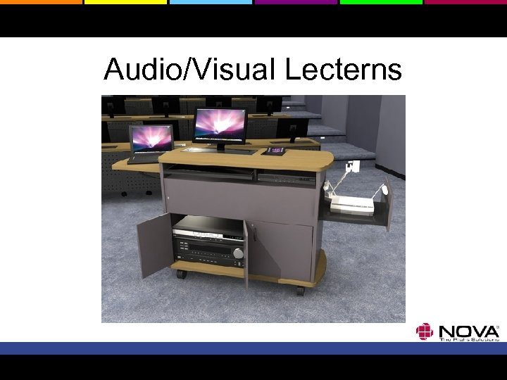 Audio/Visual Lecterns