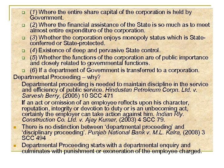 (1) Where the entire share capital of the corporation is held by Government. q