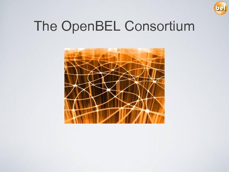 The Open. BEL Consortium