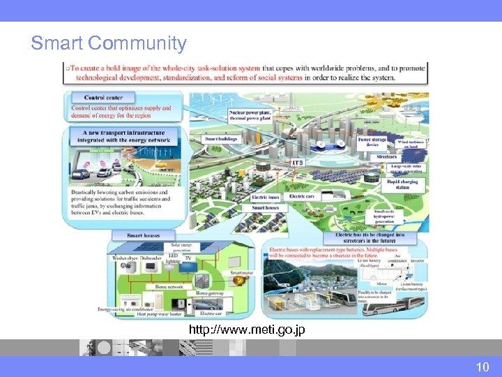 Smart Community http: //www. meti. go. jp 10