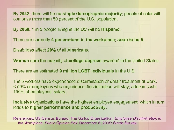 By 2042, there will be no single demographic majority; people of color will comprise