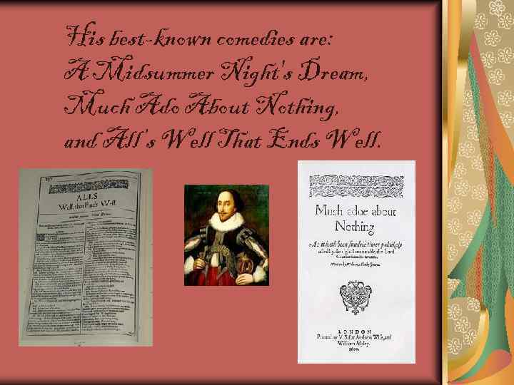 a comparison of three plays by william shakespeare a midsummers nights dream much ado about nothing  Twenty shakespeare children's stories - the complete 20 books boxed collection: the winters take, macbeth, the tempest, much ado about nothing, romeo and juliet, hamlet, a midsummer nights dream, twelfth night and more.