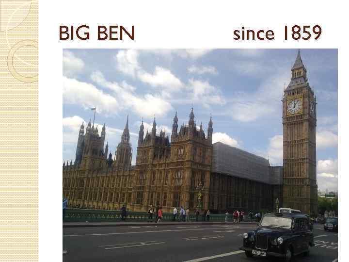 BIG BEN since 1859