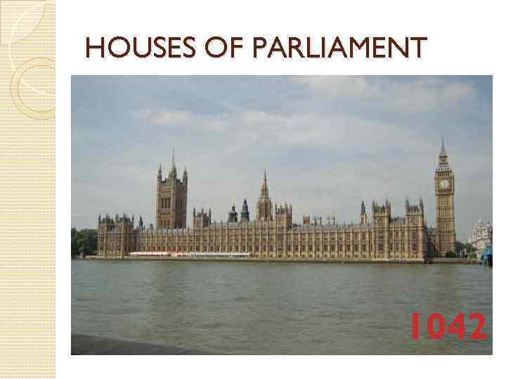 HOUSES OF PARLIAMENT 1042
