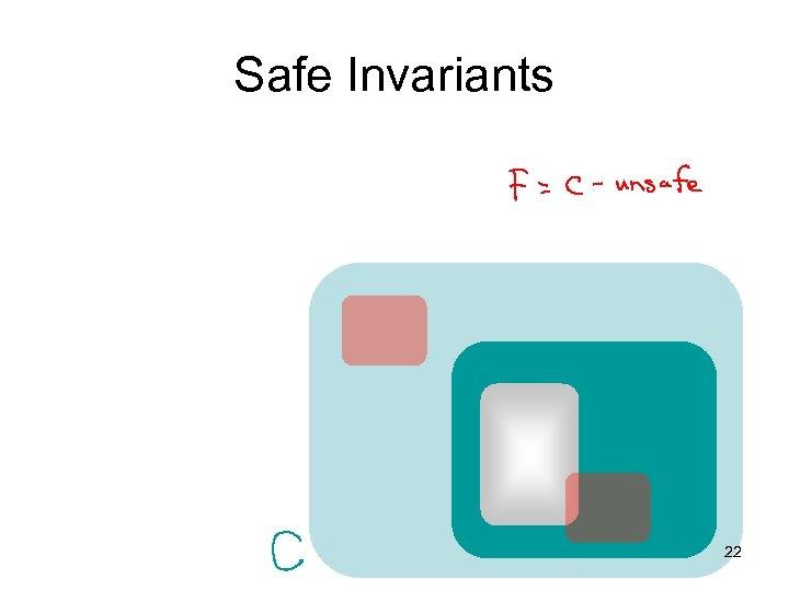 Safe Invariants 22