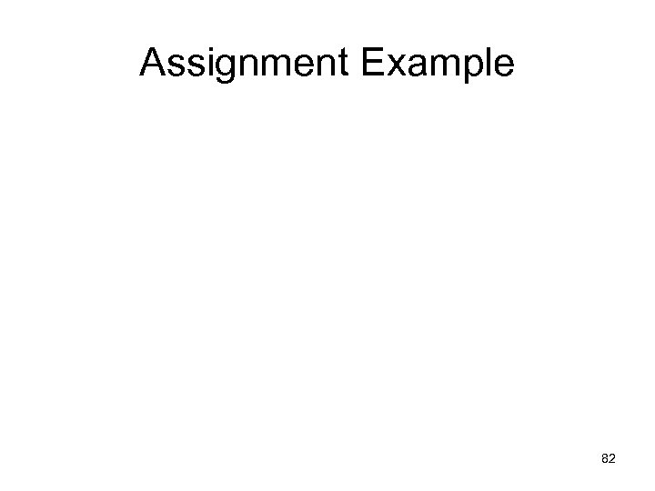 Assignment Example 82