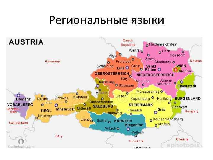 Региональные языки