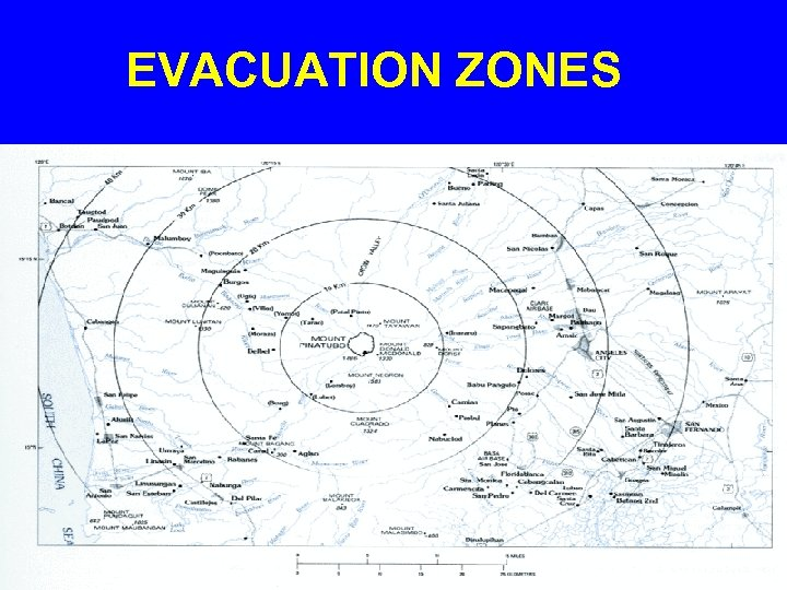 EVACUATION ZONES