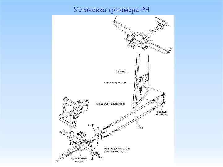 Установка триммера РН