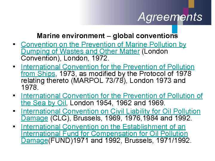 the importance of the international convention for the prevention of pollution by ships for the prot Prevent pollution and reduce harmful emissions the 1973 international convention for the prevention of for the prevention of pollution from ships were.