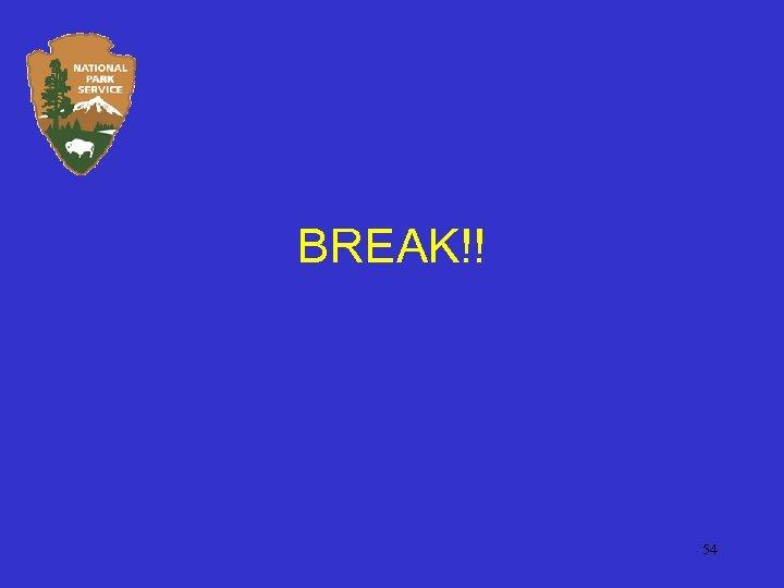 BREAK!! 54