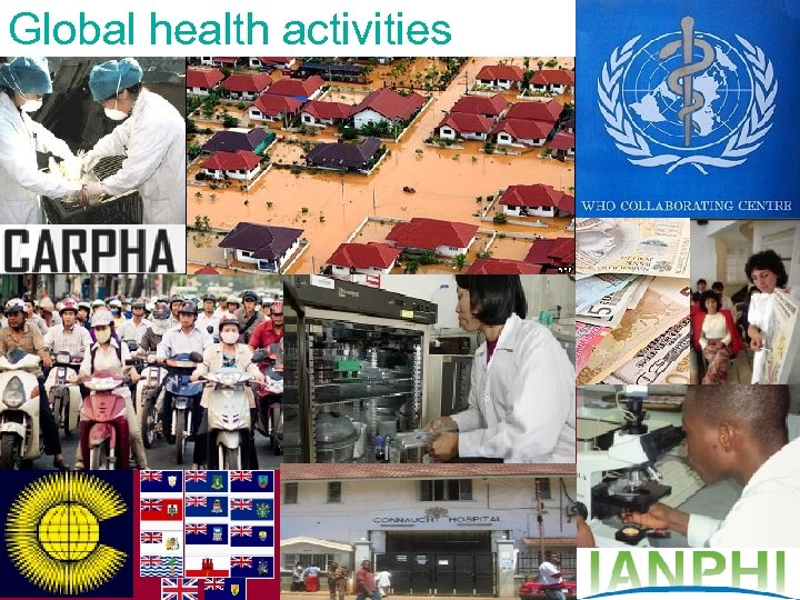 Global health activities