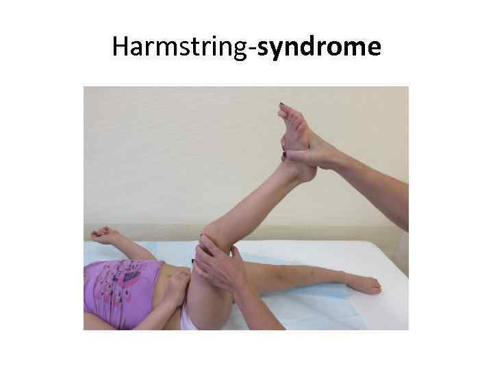 Harmstring-syndrome