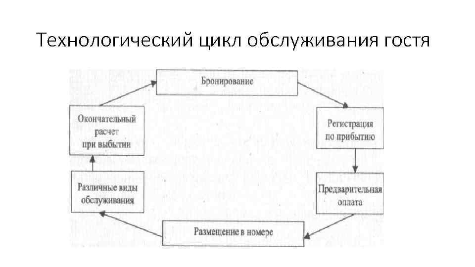 Технологического цикла в этапы отеле гостя шпаргалка обслуживания