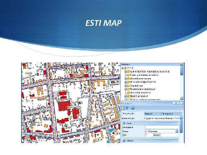 ESTI MAP