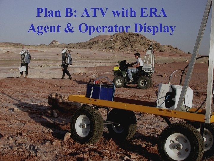 Plan B: ATV with ERA Agent & Operator Display