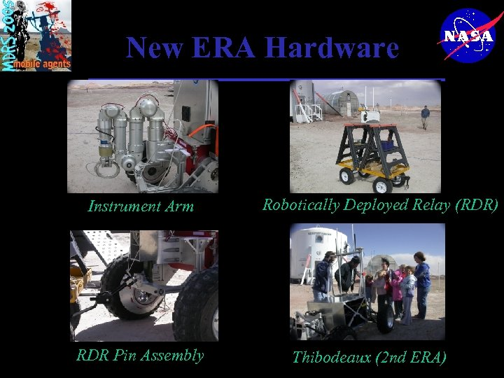 New ERA Hardware Instrument Arm RDR Pin Assembly Robotically Deployed Relay (RDR) Thibodeaux (2