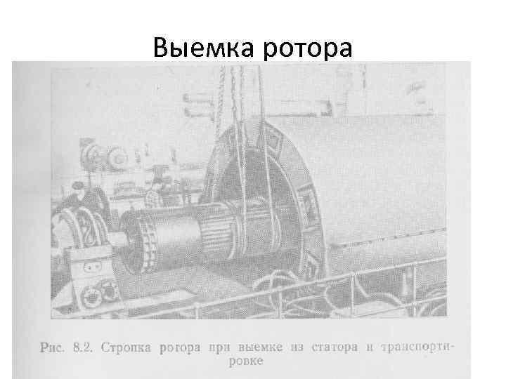 Выемка ротора