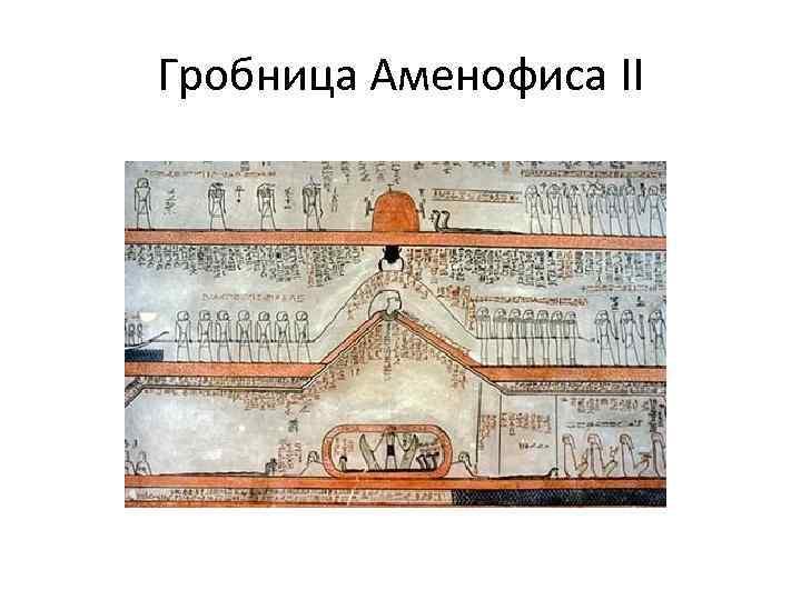 Гробница Аменофиса II