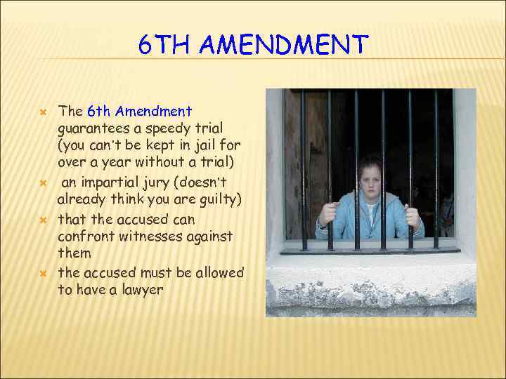 what rights this amendment guarantee or protect 2 essay Barron settles the question of whether bill of rights guarantees that do not specifically limit their application to the federal government (the first amendment, eg, expressly says congress shall make no law) might also protect citizens from the actions of state governments.