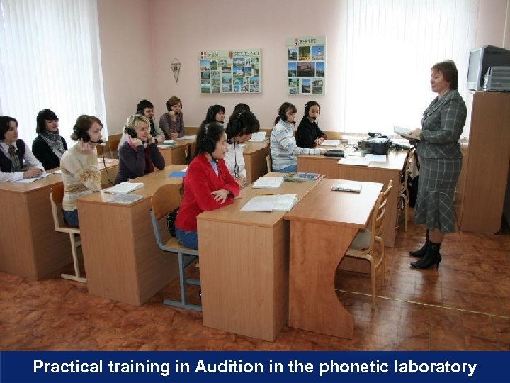 Practical training in Audition in the phonetic laboratory