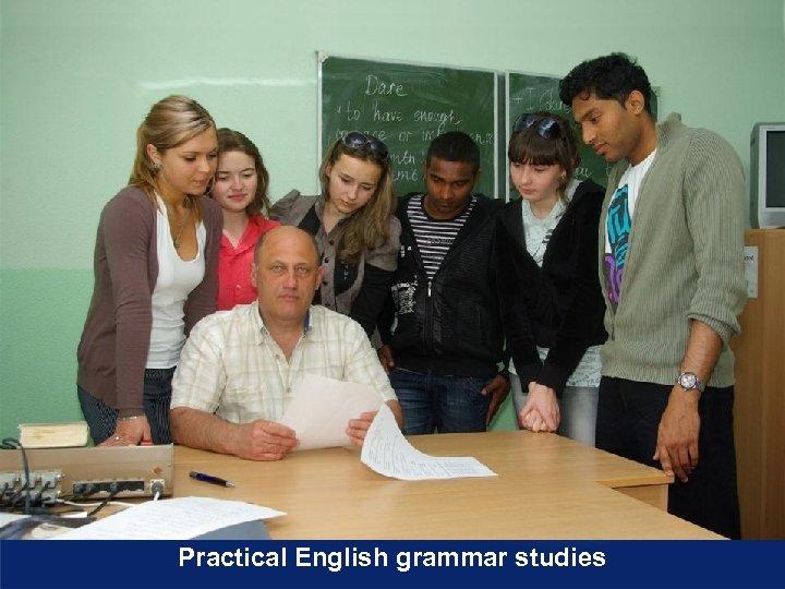 Practical English grammar studies