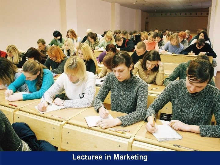 Lectures in Marketing