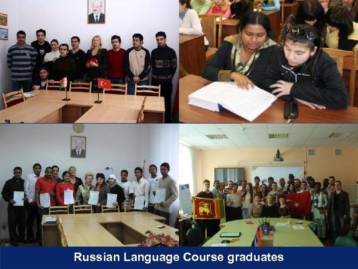 Russian Language Course graduates