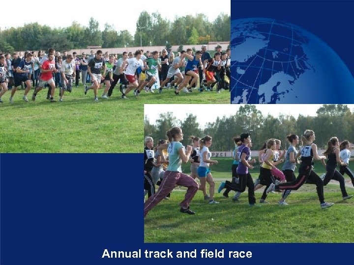 Annual track and field race