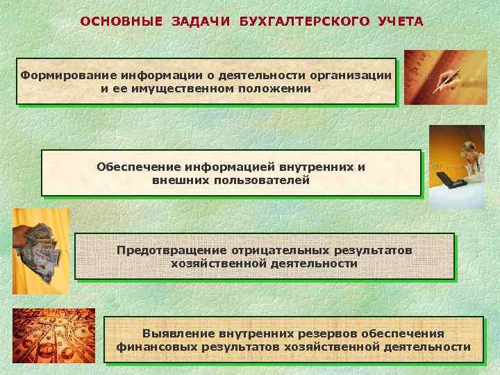 Сущность и основные задачи бухгалтерского учета шпаргалки
