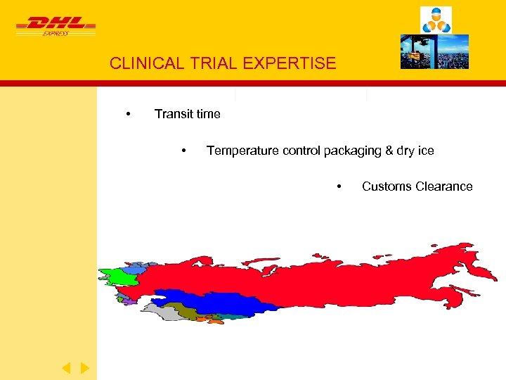 DHL EXPRESS CAPABILITIES FOR ASSOCIATION OF CLINICAL TRIALS