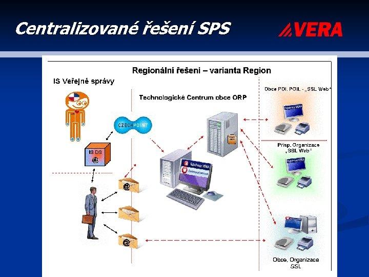 Centralizované řešení SPS