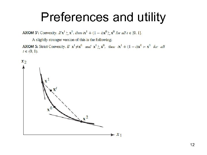 Preferences and utility 12