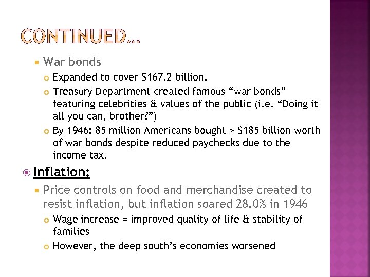 """War bonds Expanded to cover $167. 2 billion. Treasury Department created famous """"war"""