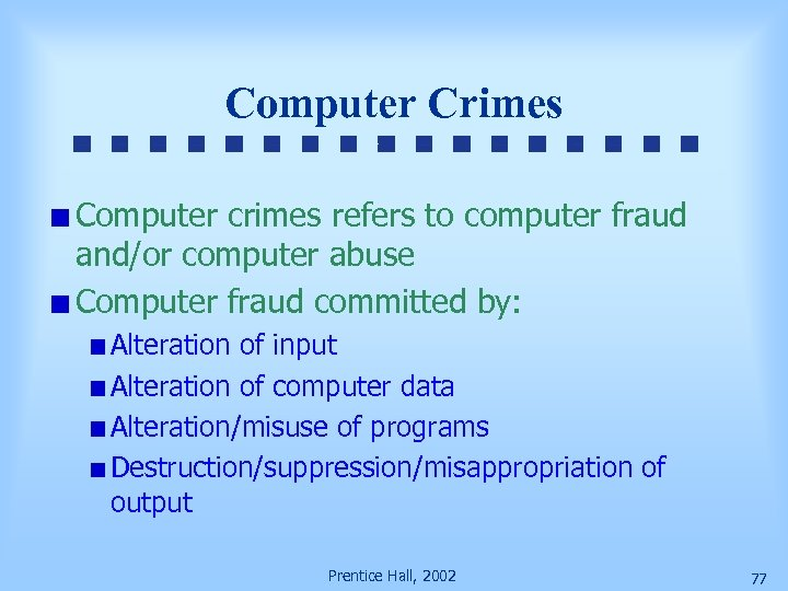 computer fraud essay Read this essay on computer fraud come browse our large digital warehouse of free sample essays get the knowledge you need in order to pass your classes and more.
