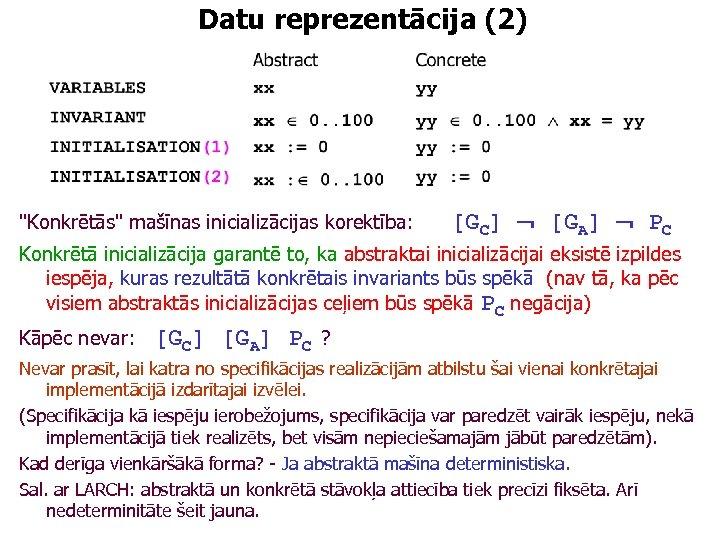 Datu reprezentācija (2)