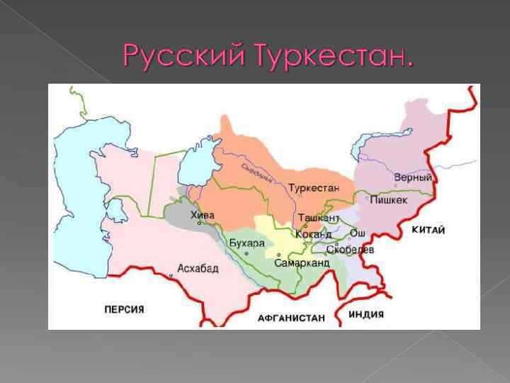 Русский Туркестан.