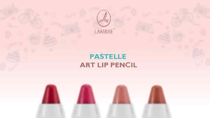 PASTELLE ART LIP PENCIL