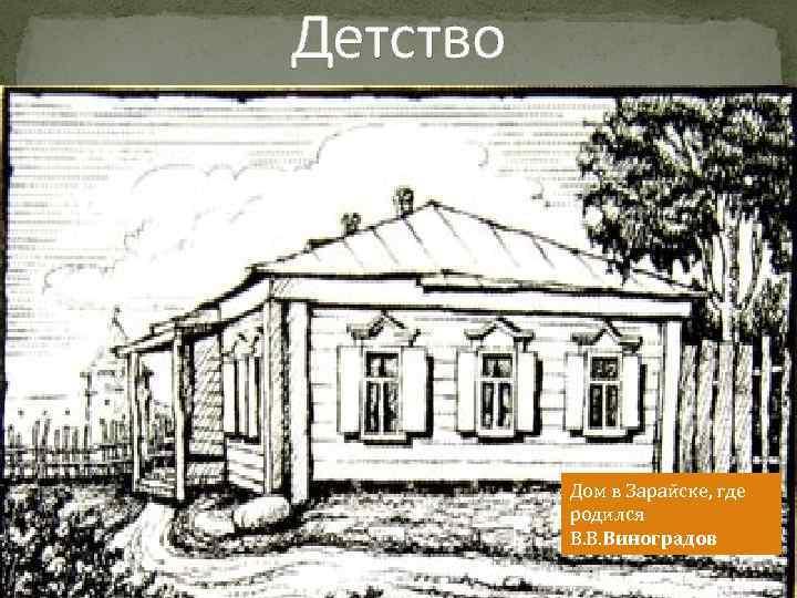 Детство Родился 21 ноября 1711 года в Дом в Зарайске, где Архангельской губернии в