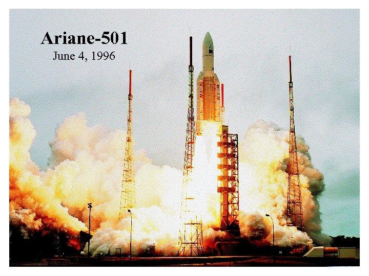 Ariane-501 June 4, 1996