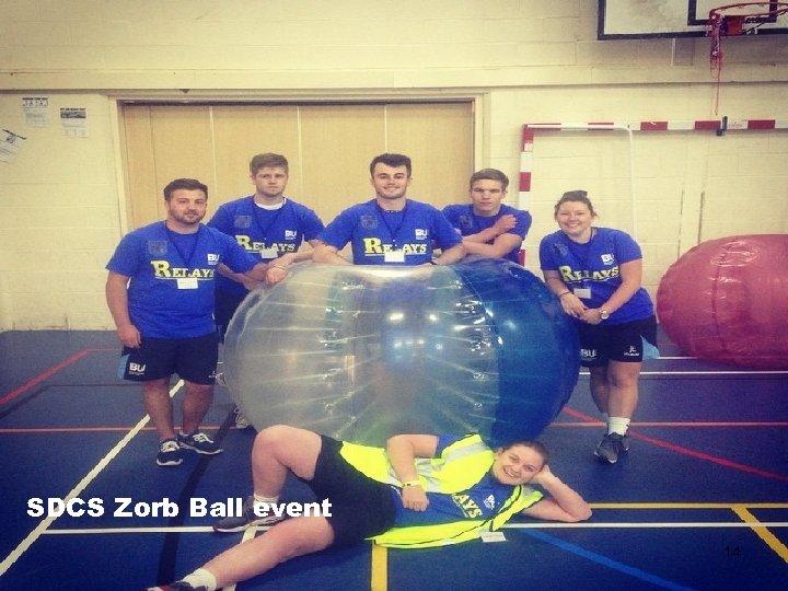 SDCS Zorb Ball event 14