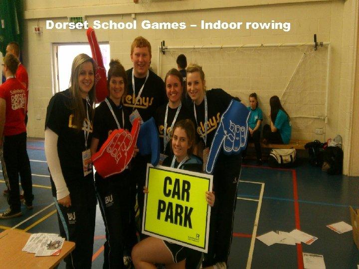 Dorset School Games – Indoor rowing