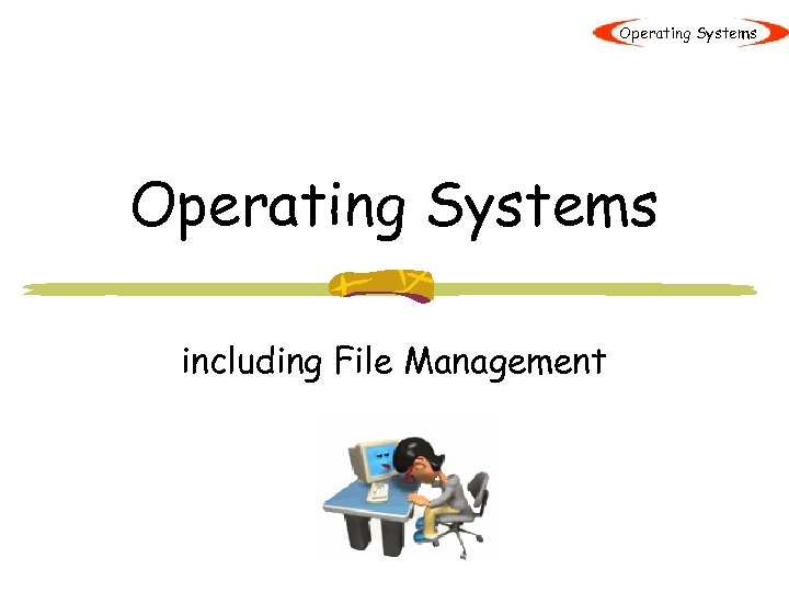 Operating Systems including File Management
