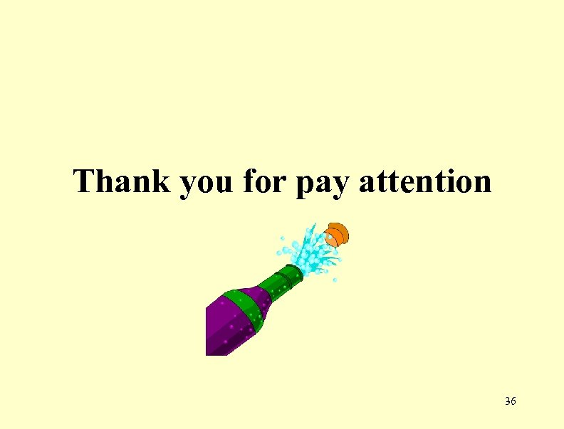 Thank you for pay attention 36