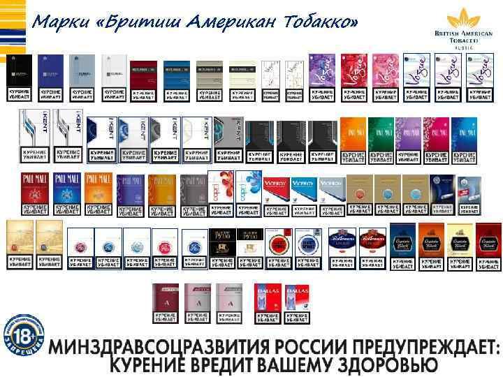 Бритиш американ тобакко сигареты купить купить электронную сигарету joyetech в краснодаре