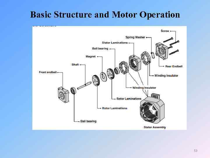 Basic Structure and Motor Operation 53