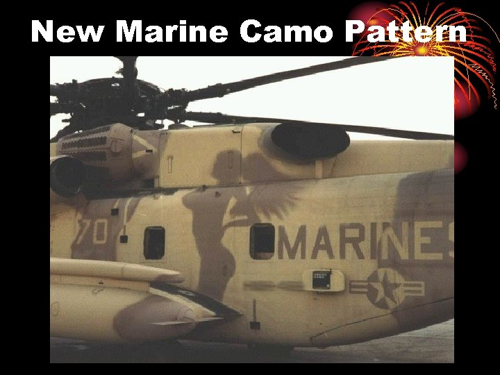 New Marine Camo Pattern