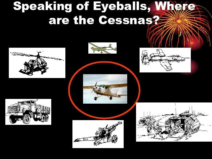 Speaking of Eyeballs, Where are the Cessnas?