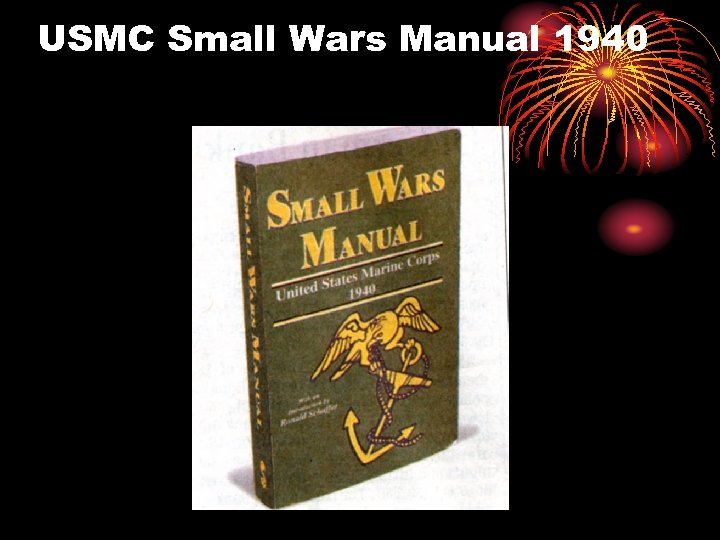 USMC Small Wars Manual 1940