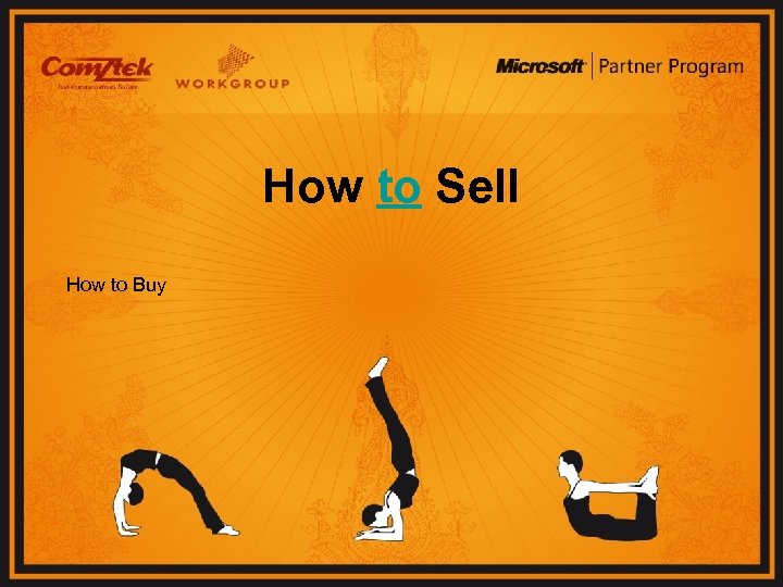 How to Sell How to Buy